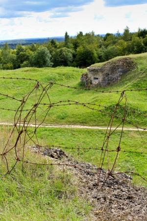 bombardment: Verdun, Fort Douaumont World War One Fortifications, France