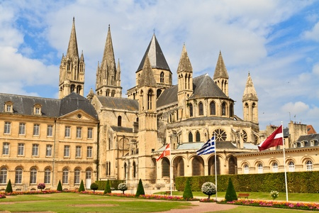 basse normandy: Church of Saint Etienne, Caen (Normandy, France), Abbaye aux hommes