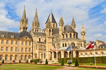 hommes: Iglesia de Saint-Etienne, Caen (Normand�a, Francia), Abbaye aux hommes