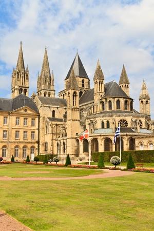 aux: Church of Saint Etienne, Caen (Normandy, France), Abbaye aux hommes