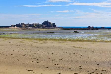 Elizabeth Castle, Saint Helier Harbour, Jersey, The Channel Islands photo