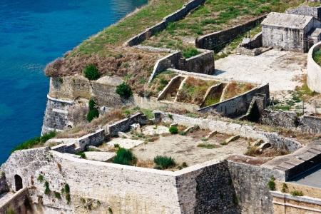 kerkyra: Corfu   Kerkyra Fortifications Aerial View, Greece