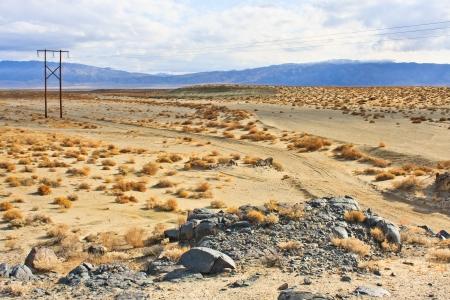 mojave: California Desert Landscape near Ridgecrest, CA