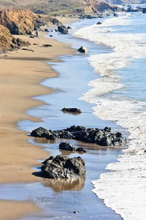 California Coast near San Simeon photo