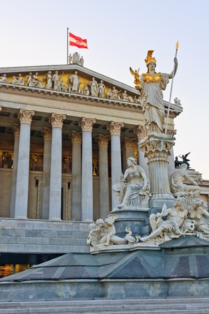 european parliament: Austrian Parliament in Vienna
