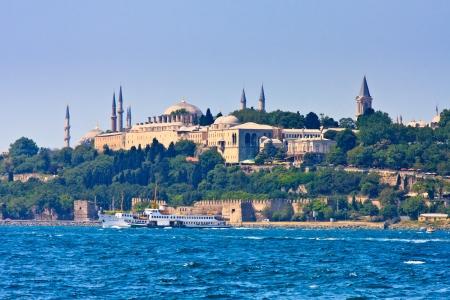 topkapi: Istanbul Topkapi  on the Golden Horn, Turkey Stock Photo