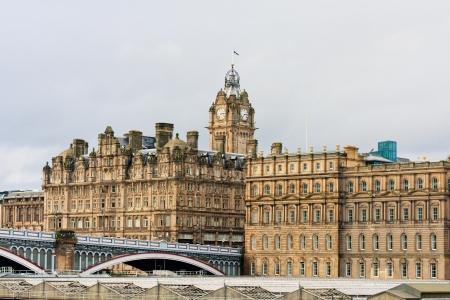 edinburgh: Balmoral hotel in Edinburgh, Scotland, United Kingdom