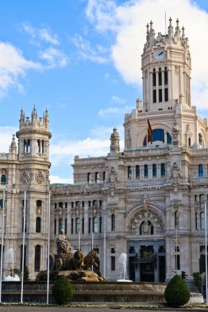 real madrid: Palacio de Cibeles, Madrid, Spain