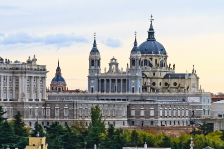Almudena Cathedral, Madrid, Spain photo