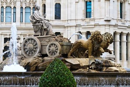 cibeles: Plaza de Cibeles Fountain, Madrid, Spain