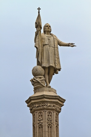 christopher columbus: Christopher Columbus Statue, Madrid, Spain