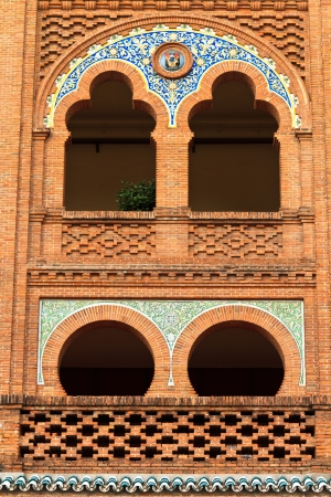 Architecture Details of Arena Plaza de Toros de Las Ventas, Madrid, Spain photo