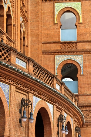 Architecture Details of Arena Plaza de Toros de Las Ventas, Madrid, Spain photo