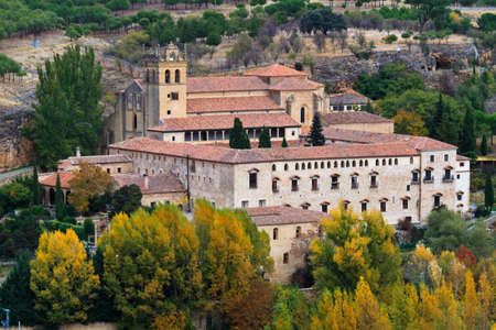 segovia: Santa Maria del Parral is a convent of the Hieronymites just outside the walls of Segovia, Spain