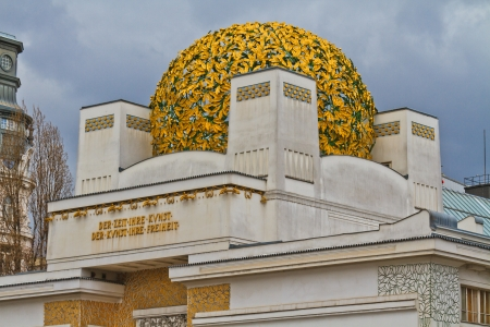 Secession Building, una sala espositiva per l'arte contemporanea, Vienna, Austria photo