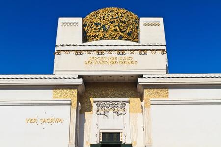 Secession Building, an Exhibition Hall for Contemporary Art, Vienna, Austria