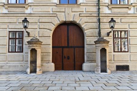 Vienna Hofburg Palace - Entrance Door in Inner Square (Innerer Burghof) Stock Photo - 13182159