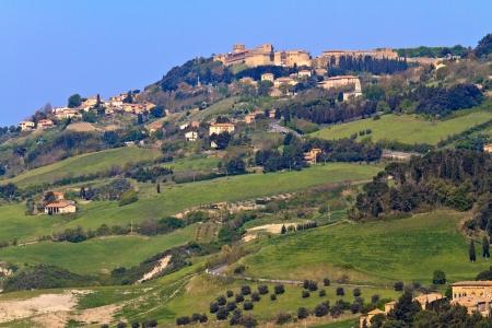 volterra: View on city of Volterra, Tuscany (Italy)