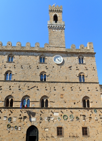 Volterra, Tuscany - Ancient City Hall (Italy) photo