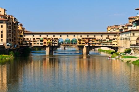 vechio: Ponte Vecchio Bridge, Florence, Tuscany, Italy Stock Photo