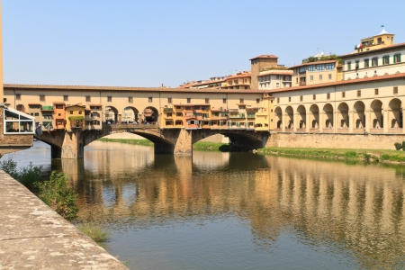 Ponte Vecchio Bridge, Florence, Tuscany, Italy photo