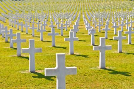 cementerios: Am�rica cementerio de la guerra (la Segunda Guerra Mundial), Florencia, Toscana, Italia