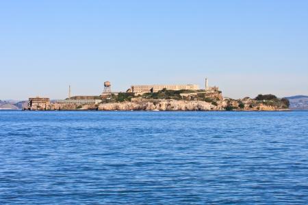 gaol: Alcatraz island - Famous prison in San Francisco