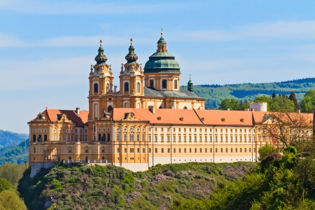 Melk Abbey is an Austrian Benedictine abbey and one of the world's most famous monastic sites Stock Photo - 13908722
