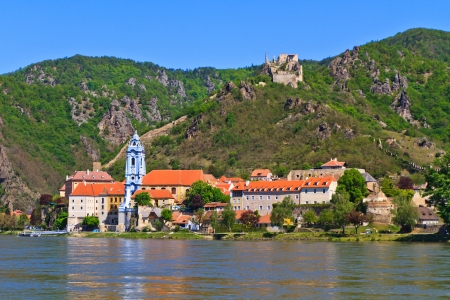 Durnstein is one of the most visited tourist destinations in the Wachau region photo