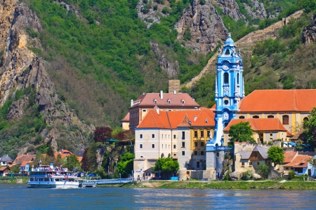 Durnstein is one of the most visited tourist destinations in the Wachau region Stock Photo - 13908731