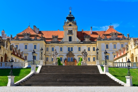 liechtenstein: Valtice is one of the most impressive baroque residences of Central Europe. It was built for the princes of Liechtenstein by Johann Bernhard Fischer von Erlach in the early 18th century.