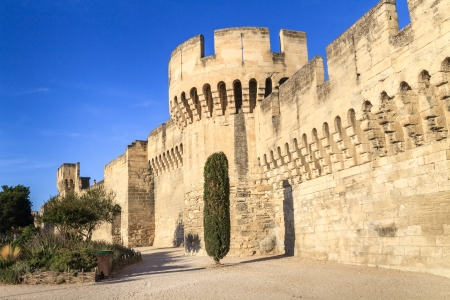 Avignon Medieval City Wall / Fortifications, Provence, France Stock Photo - 16411781