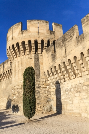avignon: Avignon Medieval City Wall  Fortifications, Provence, France
