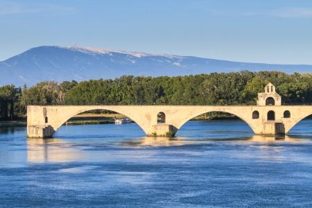 avignon: Avignon Bridge, Pont Saint-Bénezet, Provence, France