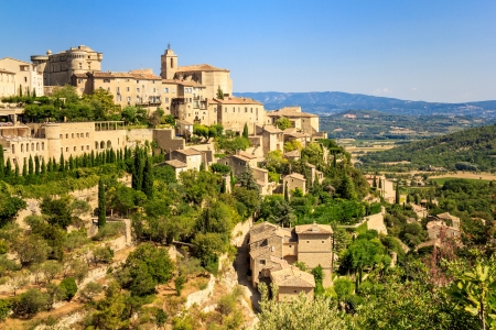 Gordes medieval village in Southern France  Provence  photo