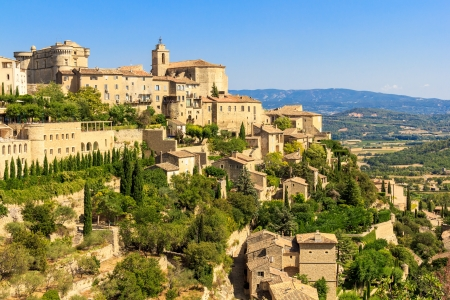 Gordes medieval village in Southern France  Provence  Stock Photo