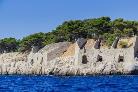 Calanques coast near Cassis in Provence, Southern France photo