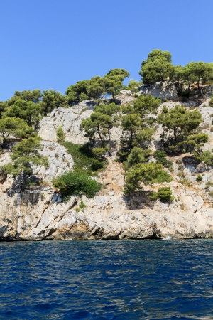 Calanques coast near Cassis, Provence, Southern France photo