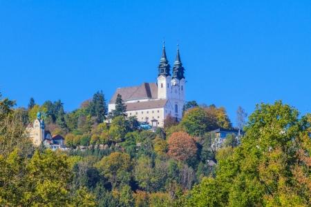 linz: Famous Poestlingberg Basilica, Linz, Austria