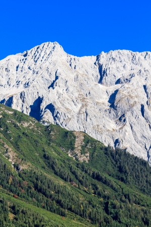 Mountain Range in the European Alps Stock Photo - 17501267