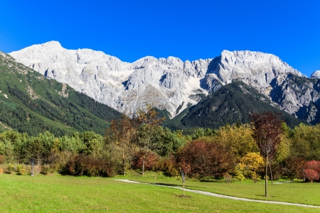 Beautiful Mountain Landscape in the European Alps photo