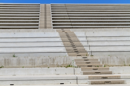 Concrete Stairs in modern amphitheater photo