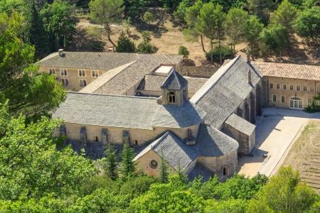 senanque: Senanque Abbey  Abbaye de Senanque, Provence, France Stock Photo