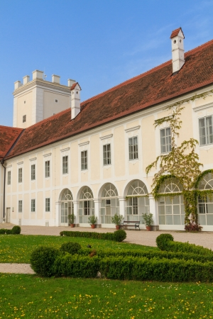 hauptplatz: Enns Castle and Garden, Upper Austria