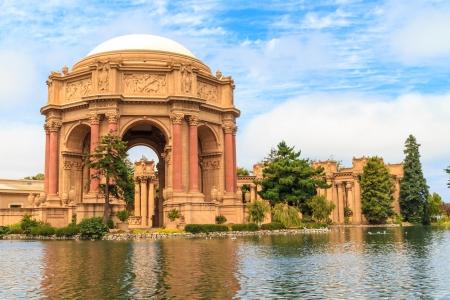 San Francisco やエクスプロラトリアム、および芸術の宮殿、カリフォルニア州 写真素材