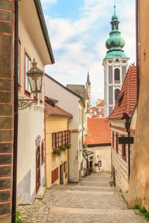 Cesky Krumlov / Krumau, Czech Republic, lovely little alleyway