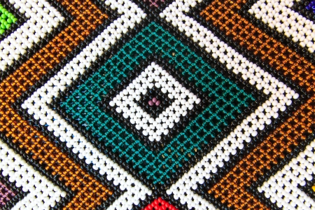Native American Pearl Pattern (Background) photo