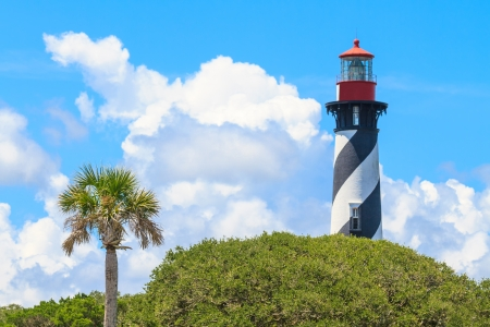 St. Augustine Lighthouse, Florida, USA Stock Photo