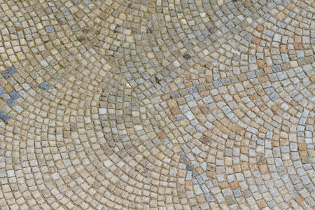 cobblestone street: Granite Cobblestone Street Pavement (texture)