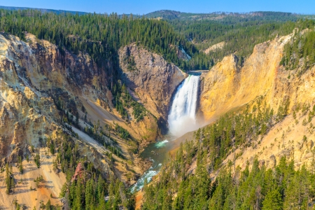 Lower Falls of the Grand Canyon of the Yellowstone National Park, Wyoming